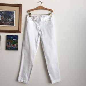 Nicole by Nicole Miller White Trousers Size 4